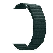 Cinturino Per Apple Watch 1 2 3 4 5 Loop in Pelle Nero 38-40 mm