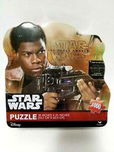 Star Wars The Force Awakens Puzzle 1000 pieces Brand New in metal box