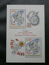 TIMBRES COSMOS : TCHECOSLOVAQUIE BLOC FEUILLET N° 49** SANS CHARNIERE - TBE
