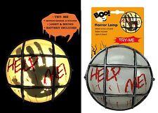 Sensore di Movimento Lampada Luce HORROR finti Festa Halloween Decorazione sangue lo sfarfallio