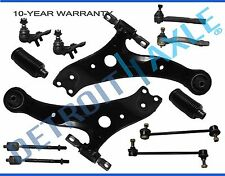 2002-2003 Camry ES300 NEW 12pc Front Lower Control Arm Set & Suspension Kit