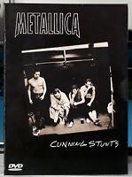 "COFFRET 2 DVD  METALLICA   "" cunning stunts ""  metal"
