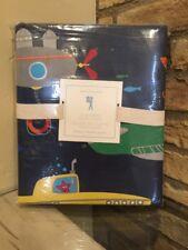 NEW Pottery Barn Kids Submarine Duvet Cover Full Queen Bedding NWT