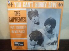"7"" THE SUPREMES - You can't hurry love - VG+/NM - TAMLA MOTOWN GO 45.253 HOLLAND"