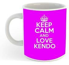 Keep Calm et amour Kendo Tasse - Rose