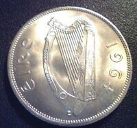 1964 GEM BUNC Ireland Halfcrown Horse 2s6d Irish Pre Decimal Coin Superb Lustre!