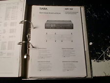 SABA Service Manual Amp Hifi PA 2065 uvm.: 1 Stück aussuchen/choose 1 piece