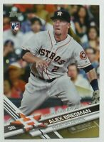 2017 Topps Update Gold Parallel US150 Alex Bregman Astros RC /2017