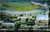 Aeropuerto Berlín Tempelhof Letrero de Metal 3D en Relieve Tin Firmar 20 X 30CM