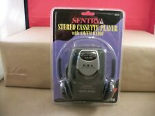 Sentry Wm500 Stereo Cassette With Am Fm Radio Belt Clip Headphones New Sealed