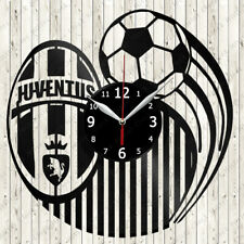 Juventus Vinyl Record Wall Clock Decor Handmade 3003