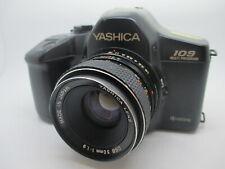 Yashica 109 35mm SLR Camera Film Contax C/Y Lens Mount w/ Yashica DSB 50MM F1.9