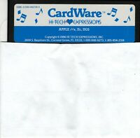 """ITHistory (1986) Apple Software: """"Cardware"""" (IIe/IIc/IIGS) (HiTech Expressions)"""