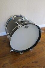 USA Gretsch 18x14 Bass Drum Vintage Jasper Shell