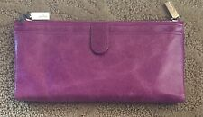 Nwt Women's Hobo International Leather Wallet, Taylor, Pansy Magenta