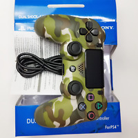 PS4 GREEN CAMO Camouflage Wireless Controller Gamepad New Box Playstation 4