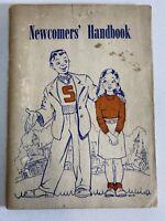 Vintage Syracuse University Newcomer's Handbook 1947-48 Students Information