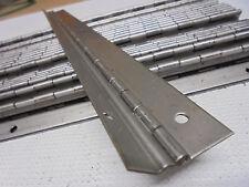 "30 LOT Aluminum Offset Piano Hinge 13-1/2"" Long x 1/8"" Offset x 1/2"",5/8"" Mount"