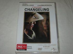 Changeling - Angelina Jolie - Brand New & Sealed - Region 4 - DVD