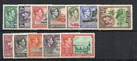 British Solomon Islands 1939-51 vals to 5s MLH