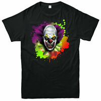 Halloween Creepy Carnival T-Shirt, Joker Fear Adult & Kids Tee Top