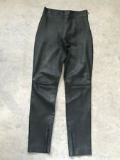 Black Leather Pants Skinny fit / Size 10