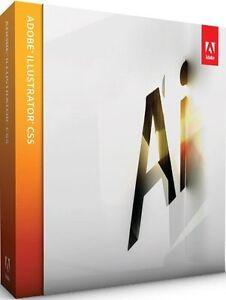 Adobe Illustrator CS5 Windows Allemand Plein Tva Boite Détail