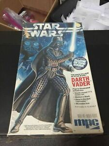 Vintage 1970s Star Wars Darth Vader Plastic Model Kit MPC