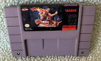 Fatal Fury 2 (Super Nintendo Entertainment System, 1994) SNES Authentic Tested