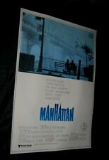 Original Spanish MANHATTAN 27 3/4 x 39 1/2 BEST ART Encapsulated Preservation