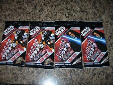 SEALED Star Wars Pocketmodel ORDER 66 x4 Game Pack trading card game TCG decals