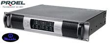 PROEL HPD2000 AMPLIFICATORE QUATTRO CANALI 4 X 500 W CON FILTRO HPF