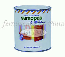 Cementite Lt 0,5 pittura bianca opaca fondo legno aggrappante primer smalto Samo