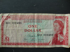 East  one dollar carribbean currency authority 1965