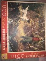 Vintage 1940's era TUCO Deluxe Picture Puzzle Jigsaw