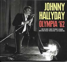 CD DIGIPACK 14 TITRES JOHNNY HALLYDAY OLYMPIA '62 NEUF SCELLE 2015