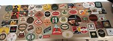 Job Lot of 57 Vintage  Beer Mats with No Repeats, Rare Europeans Included