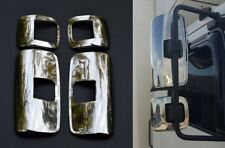 2x Chrome Mirror Covers Protectors Stainless Steel Decoration for Mercedes Atego