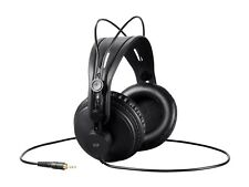 Retro Over-the-Ear Monitor Headphones (Black) Dynamic Accuracy.