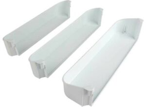 Dometic 29325760166,  Freezer/ Upper/ Bottom Refrigerator Door Shelf Kit, White