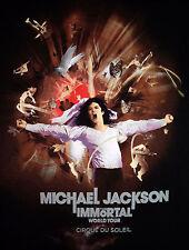 Michael Jackson The IMMORTAL World Tour by Cirque Du Soleil Tee Shirt Size Small