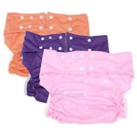 1 X Adult Summer Washable Adjustable Cloth Diaper for Incontinence Unisex Diaper