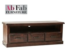 COBAR TV ENTERTAINMENT UNIT FULLY CONSTRUCTED LOW LINE LOWLINE TIMBER MEDIUM