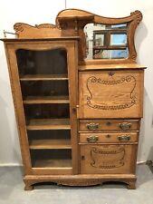 Antique Oak secretary/bookcase