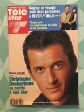 TELE STAR French 861 Mars 1993 Christophe DECHAVANNE Edwige FEUILLERE P GRAVES
