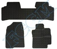 TOYOTA PRIUS (3 x PCS TAXI VERSION) 2005-2008 TAILORED RUBBER CAR MATS in 3, 5mm