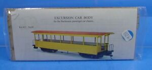 On30 MOUNT BLUE MODEL CO. #11 EXCUSION CAR BODY FOR BACHMANN PASSENGER CAR B