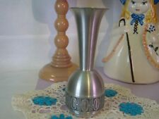 Pewter Norway Modern Bud Vase