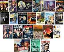 35 CULT FILM NOIR MOVIES on two MP4 DVD-ROMs *Orson Welles *Barbara Stanwyck