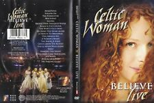 CELTIC WOMAN - BELIEVE - Live - DVD + TOP - Autogramm Bild 21cm x 15cm - gratis